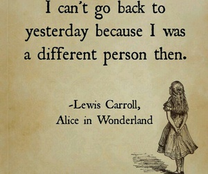 alice in wonderland, quotes, and book image