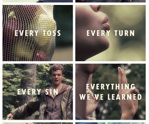 the hunger games, hunger games, and katniss everdeen image
