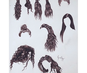 hair, hairstyle, and lorde image