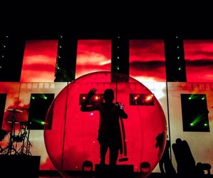 concert, red, and twenty one pilots image