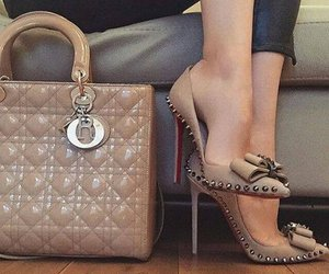 shoes, bag, and heels image