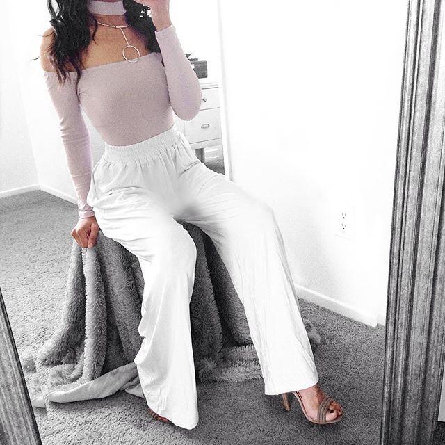 fashion, pastel, and white image
