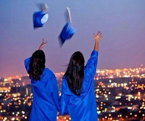 goals, graduation, and friends image