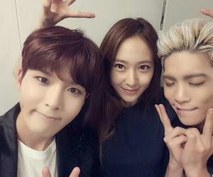 krystal, Jonghyun, and ryeowook image