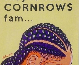 braids, cornrows, and africa image