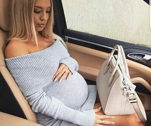 pregnant, baby, and outfit image
