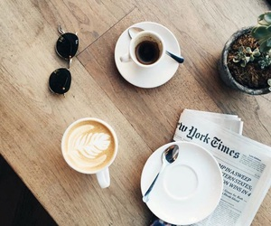 aesthetic, coffee, and latte image
