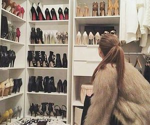 shoes, closet, and luxury image