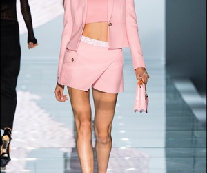fashion, runway, and Versace image