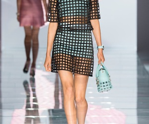 Versace, fashion, and runway image