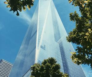 new york, new york city, and one world trade center image