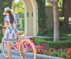fashion, bike, and summer image