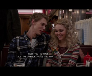 carrie, sebastian, and carrie diaries image