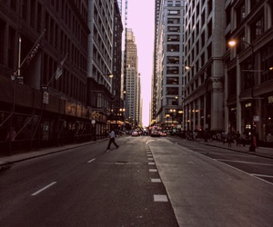 buildings, landscape, and street image