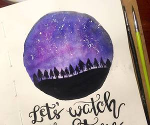 alternative, calligraphy, and indie image