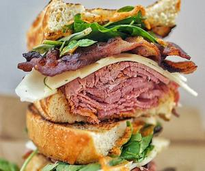 bacon, beef, and mustard image