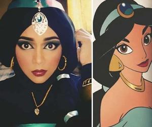 aladdin, blush, and eyeshadow image
