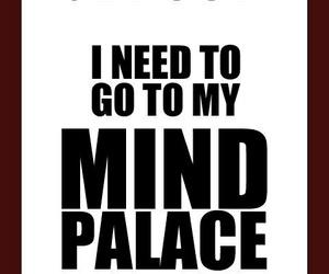 sherlock, mind palace, and bbc image