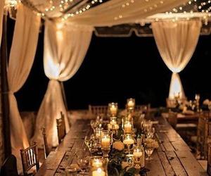 wedding, light, and candle image