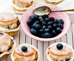 food, blueberry, and sweet image