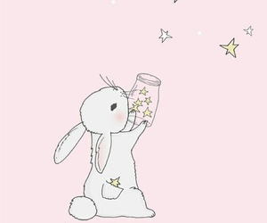 pink, stars, and cute image