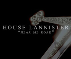 gif, game of thrones, and house lannister image