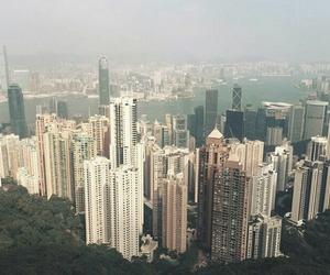 building, city, and hong kong image