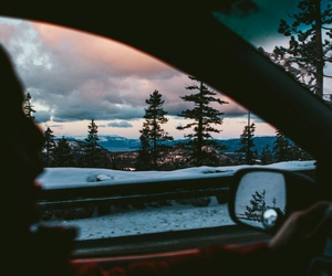 landscape, Road Trip, and friends image