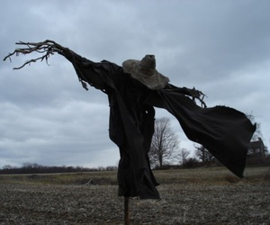 scarecrow, dark, and scary image