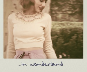 Taylor Swift, 1989, and wonderland image