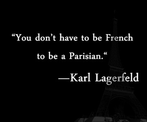 chanel, parisian, and karl lagerfeld image