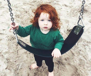 baby, ginger, and kids image