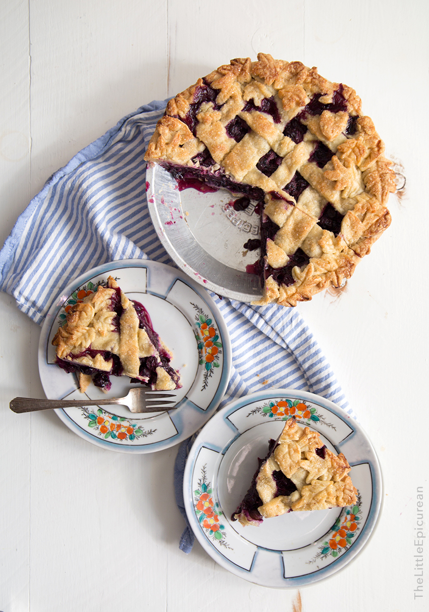 blueberry, crust, and ginger image