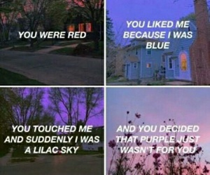 halsey, love, and blue image