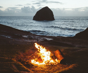 fire, photography, and summer image