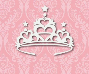 wallpaper, pink, and princess image