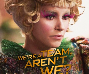 Elizabeth Banks, the hunger games, and catching fire image