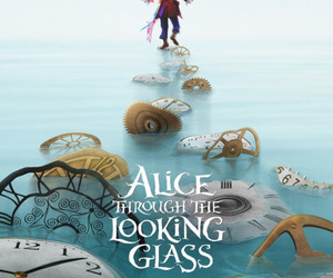 alice, disney, and movie image