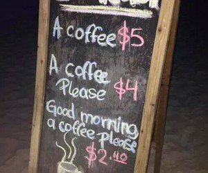 coffee, funny, and breakfast image