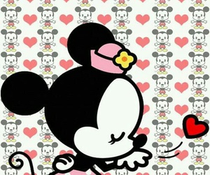 minnie, disney, and wallpaper image