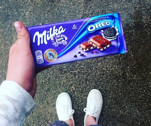 oreo, milka, and ore image