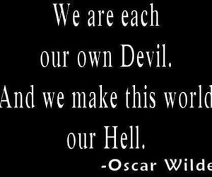 dark, hell, and Devil image