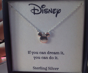 disney, Dream, and necklace image