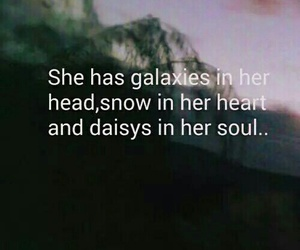 grunge, quote, and galaxy image