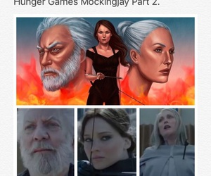 Jennifer Lawrence, julianne moore, and the hunger games image