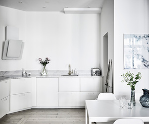 cozy, home, and white kitchen image