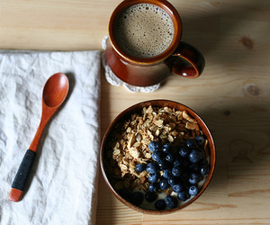 bowl, dishes, and spoon image