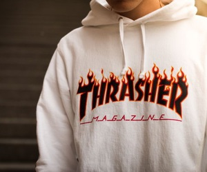 fashion, thrasher, and boy image