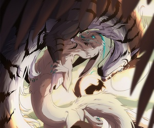 dragon and magical creatures image