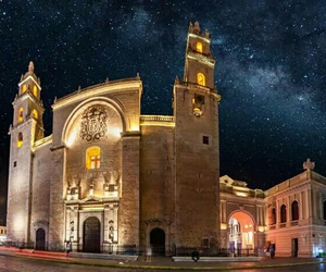 merida, catedral, and yucatan image
